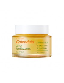[MISSHA] Su:nhada Calendula pH 5.5 Soothing Cream - 50ml