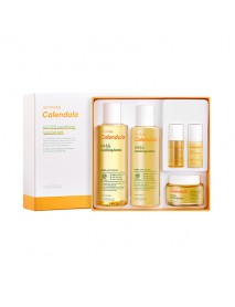 [MISSHA] Su:nhada Calendula pH 5.5 Soothing 3 Step Special Set - 1Pack (5items)