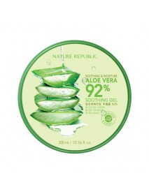 [NATURE REPUBLIC_50% Sale] Soothing & Moisture Aloe Vera 92% Soothing Gel - 300ml