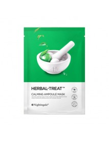 [NIGHTINGALE_PS] Herbal-Treat Calming Ampoule Mask - 1Pack (5ea)