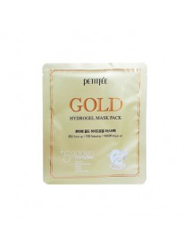 [PETITFEE] Gold Hydrogel Mask Pack - 1Pack(5pcs)
