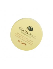 [PETITFEE] Gold & Snail Hydrogel Eye Patch - 1Pack(60pcs)