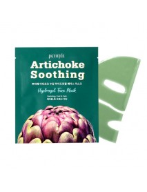 [PETITFEE] Artichoke Soothing Hydrogel Face Mask - 1Pack (5ea)