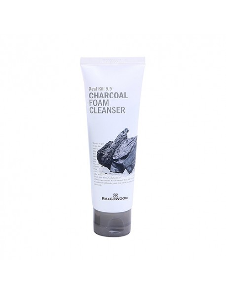 [RA&GOWOORI] Real Kill 9.9 Charcoal Foam Cleanser - 120ml