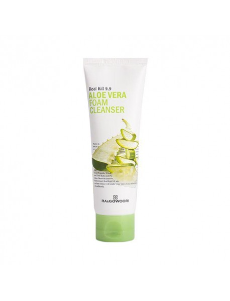 [RA&GOWOORI] Real Kill 9.9 Aloe Vera Foam Cleanser - 120ml