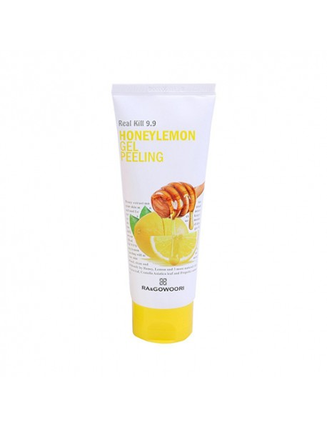 [RA&GOWOORI] Real Kill 9.9 Honey Lemon Gel Peeling - 160ml