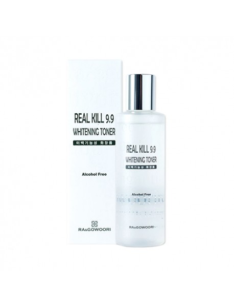 [RA&GOWOORI] Real Kill 9.9 Whitening Toner - 200ml