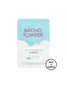 [ETUDE HOUSE_SP] Baking Powder Pore Cleansing Foam Samples - 1Box (4ml x 420ea)