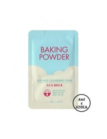 [ETUDE HOUSE_SP] Baking Powder B.B Deep Cleansing Foam Testers - 1Box (4ml x 420ea)