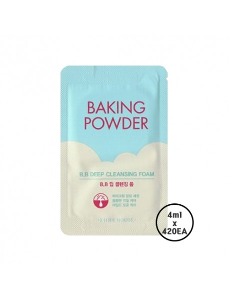 [ETUDE HOUSE_SP] Baking Powder B.B Deep Cleansing Foam Samples - 1Box (4ml x 420ea)