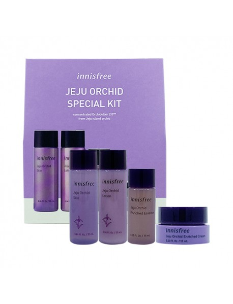 [INNISFREE_SP] Jeju Orchid Special Kit - 1Pack (4items)