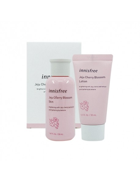 [INNISFREE_SP] Jeju Cherry Blossom Duo Kit - 1Pack (2items)