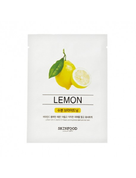 [SKINFOOD] Beauty In A Food Mask Sheet - 1pcs #Lemon