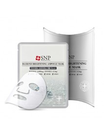 [SNP] Diamond Brightening Ampoule Mask - 1pack(10pcs)