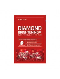 [SOME BY MI] Diamond Brightening Glow Luminous Ampoule Mask - 1Pack(10ea)