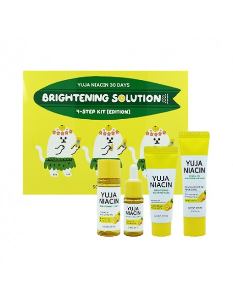 [SOME BY MI] Yuja Niacin 30 Days Brightening Solution 4-Step Kit Edition - 1Pack (4items)