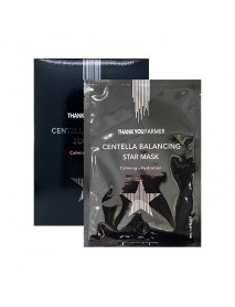 [THANK YOU FARMER x 10] Centella Balancing Star Mask - 1Pack (10ea) [★BUNDLE★]