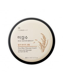 [THE FACE SHOP] Rice Water Bright Rice Bran Massage Cream - 200ml