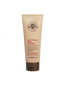 [THE FACE SHOP] Clean Face Acne Solution Foam Cleansing - 150ml