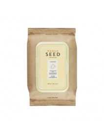 [THE FACE SHOP] Mango Seed Silk Moisturizing Cleansing Wipes - 50pcs