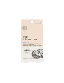 [THE FACE SHOP_60% Sale] Jeju Volcanic Lava Volcanic Ash Nose Strips - 1Pack (EXP : 2019.10.02)