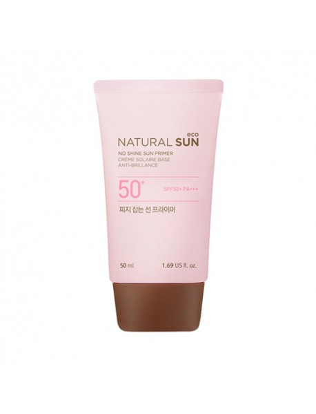 [THE FACE SHOP] Natural Sun Eco No Shine Sun Primer - 50ml (SPF50+ PA+++)