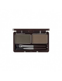 [THE SAEM] Eco Soul Eyebrow Kit -  5g #02 Gray Brown