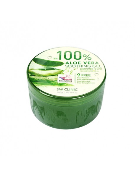 [3W CLINIC] Aloe Vera Soothing Gel - 300g