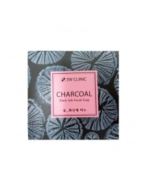 [3W CLINIC] Charcoal Black Ash Facial Soap - 100g