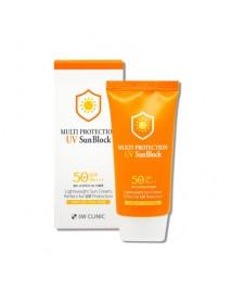 [3W CLINIC] Multi Protection UV Sun Block - 70ml(SPF50+ PA+++)
