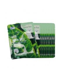 [3W CLINIC] Fresh Green Tea Mask Sheet - 10pcs