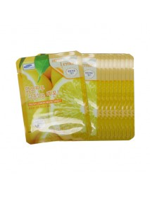 [3W CLINIC] Fresh Lemon Mask Sheet - 10pcs