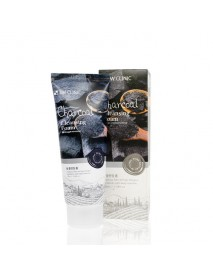 [3W CLINIC] Pure Natural Charcoal Cleansing Foam - 100ml