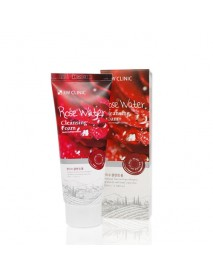 [3W CLINIC] Pure Natural Rose Water Cleansing Foam - 100ml