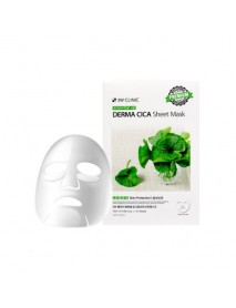[3W CLINIC] Essential Up Sheet Mask - 1Pack (10ea) #Derma Cica