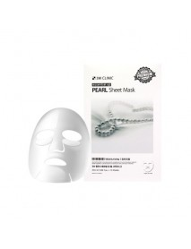 [3W CLINIC] Essential Up Sheet Mask - 1Pack (10ea) #Pearl