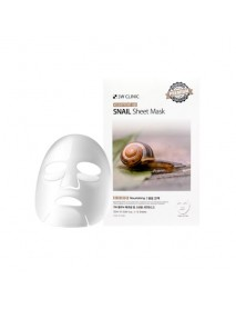 [3W CLINIC] Essential Up Sheet Mask - 1Pack (10ea) #Snail
