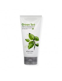 [3W CLINIC] Green Tea Clean Up Cleansing Foam - 150ml