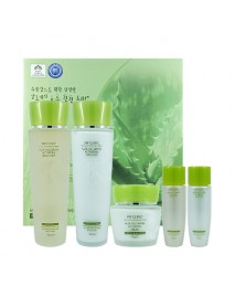 [3W CLINIC] Aloe Full Water Activating Skin Care 3 Set - 1Pack (5items)