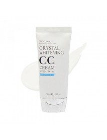 [3W CLINIC] Crystal Whitening CC Cream - 50ml (SPF50+ PA+++) #01 Glitter Beige