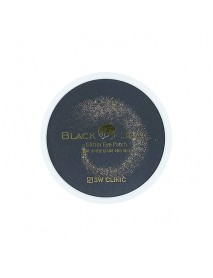 [3W CLINIC] Black Snail Glitter Eye Patch - 90g (60pcs)