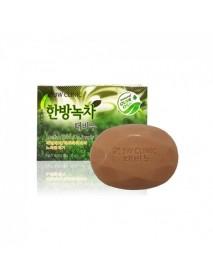 [3W CLINIC] Beauty Soap - 120g #Herbal Green Tea