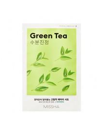 [MISSHA_50% Sale] Airy Fit Sheet Mask - 1pcs #Green Tea
