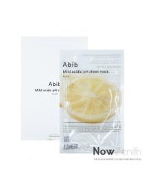 [Abib] Mild Acidic pH Sheet Mask Yuja Fit - 1Pack (10ea)