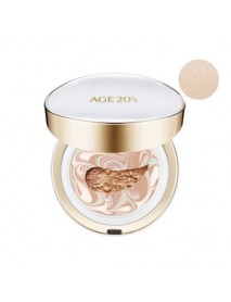 [AGE 20S] Signature Essence Cover Pact Long Stay - 14g (+Refill 14g) #13 Ivory