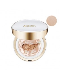[AGE 20S] Signature Essence Cover Pact Long Stay - 14g (+Refill 14g) #21 Light Beige