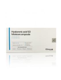 [AIDA COSMETIC] Hyaluronic Acid 50 Moisture Ampoule - 1Pack (2ml*10ea)