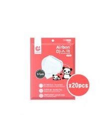 [AIR QUEEN] Airbon Children's Nano Mask White - 20pcs