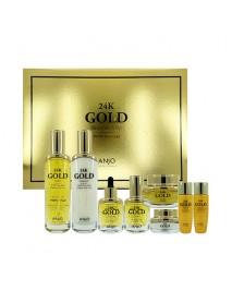 [ANJO] 24K Gold Skin Care 6 Set - 1Pack (8items)
