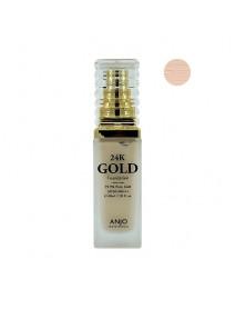 [ANJO] Professional 24K Gold Foundation - 40ml #21 Light Beige